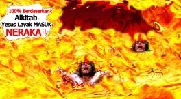 Image result for Yesus masuk neraka